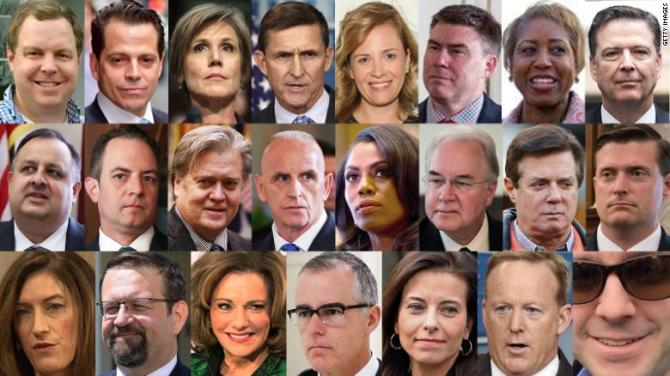 Image result for changing white House' staffs