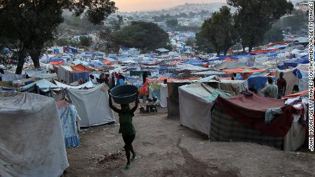 Haiti was devastated by the 2010 earthquake, which left many in displacement camps.
