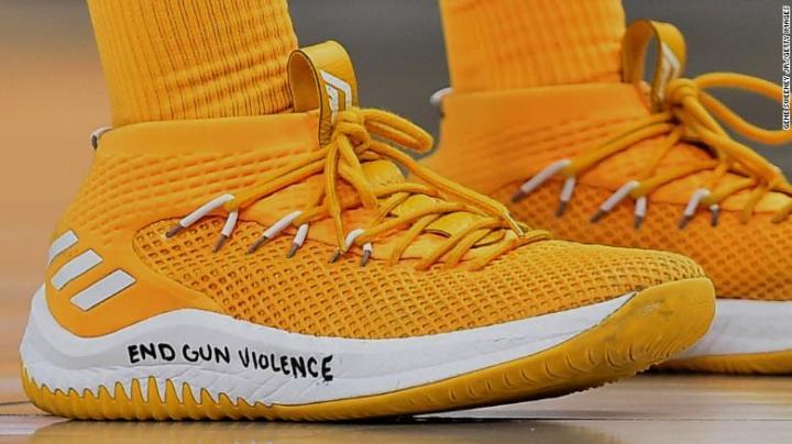 Le scarpe indossate da Donovan Mitchell, rookie NBA | numerosette.eu