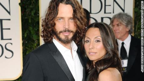 Chris and Vicky Cornell in 2012