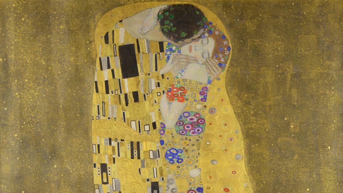 Index Of Jpg Girl Wallpaper The Legacy Of Gustav Klimt And His Enduring Kiss Cnn Style
