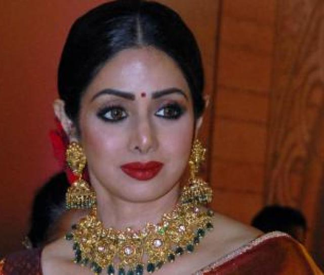 Indian Bollywood Actress Sridevi Attends The Zee Cine Awards  Ceremony In Mumbai On