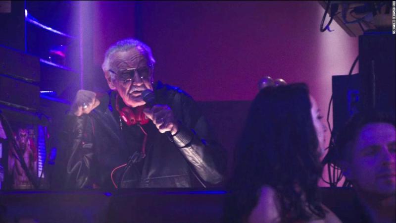 "Lee plays a strip-club DJ in the 2016 film ""Deadpool."""