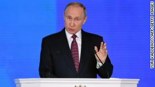 Putin touts new nuclear-powered missile