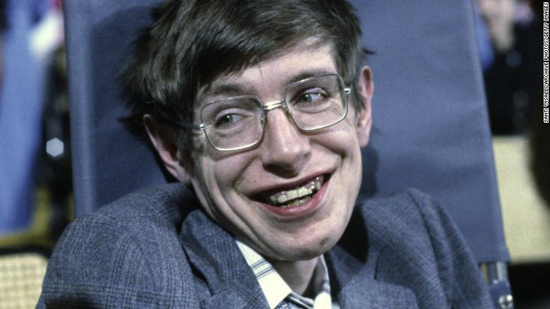 Cosmologist Stephen Hawking on October 10, 1979, in Princeton, New Jersey.