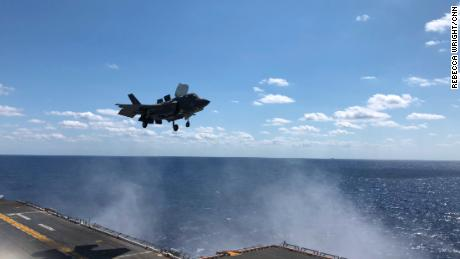 US shows off new F-35 fighter jets ahead of US-South Korea drills