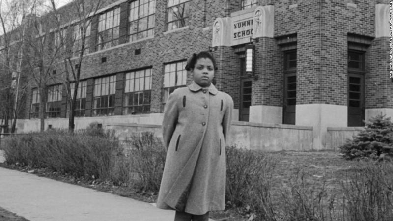 """<a href=""""https://www.cnn.com/2018/03/26/us/linda-brown-dies/index.html"""" target=""""_blank"""">Linda Brown</a>, who as a little girl was at the center of the Brown v. Board of Education US Supreme Court case that ended segregation in schools, has died, a funeral home spokesman said. She was 75."""