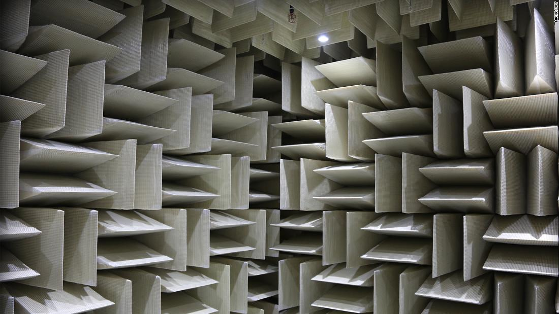 The worlds quietest room  CNN Style