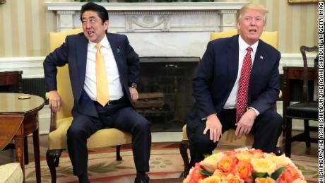 Japanese Prime Minister Shinzo Abe to visit Trump at Mar-a-Lago