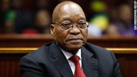 South Africa's ex-President Zuma in court on corruption charges