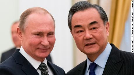 China says relations with Russia at 'best level in history'