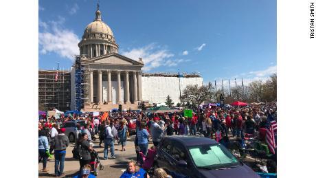 Oklahoma teacher walkout ends