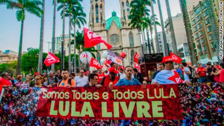 Brazilian lawmakers request name change in support of Lula