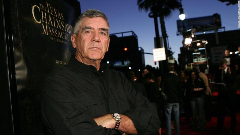 "<a href=""https://www.cnn.com/2018/04/16/entertainment/r-lee-ermey-obit/index.html"" target=""_blank"">R. Lee Ermey</a>, an actor known for his Golden Globe-nominated role as an intimidating drill sergeant in ""Full Metal Jacket,"" died April 15, according to a statement from his manager. Ermey was 74."