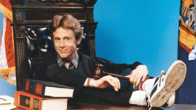 "<a href=""https://www.cnn.com/2018/04/16/us/harry-anderson-death/index.html"">Harry Anderson</a>, best known for playing Judge Harry Stone on TV's ""Night Court,"" was found dead inside his home in Asheville, North Carolina, on April 16, according to police. He was 65."