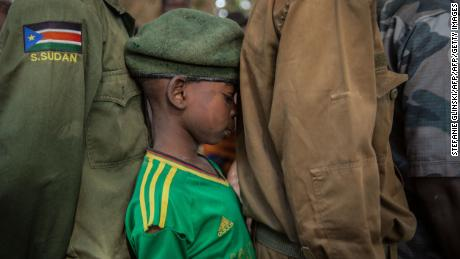 More than 200 child soldiers freed in South Sudan