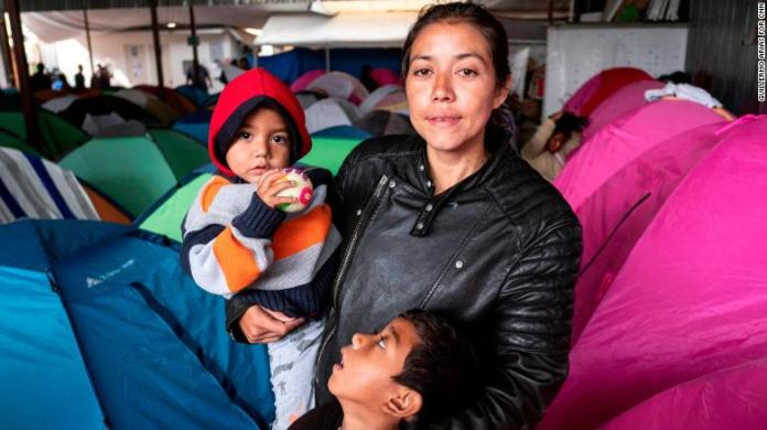 Image result for 'I'm about to have my baby': migrants stuck in Mexico face more uncertainty