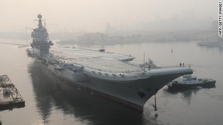 China's second aircraft carrier sets sail