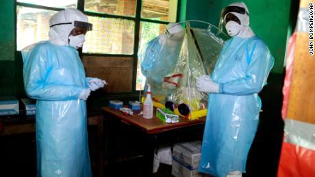 Ebola vaccination campaign to begin in Congo
