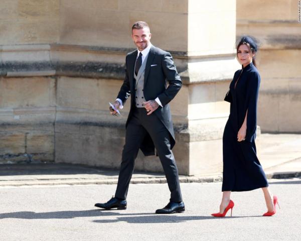 Victoria Beckham Royal Wedding