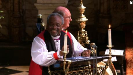 Bishop Michael Curry gave an address with a charisma familiar to many American worshipers. Some British attendants, however, may have been experiencing such a speech for the first time.