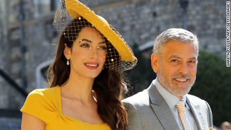 Amal and George Clooney are expected to attend their second royal wedding of the year.