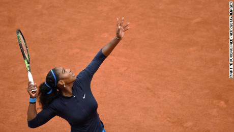 Serena Williams won the last of her three French Open titles in 2015.