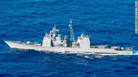 US sails warships past disputed islands in South China Sea