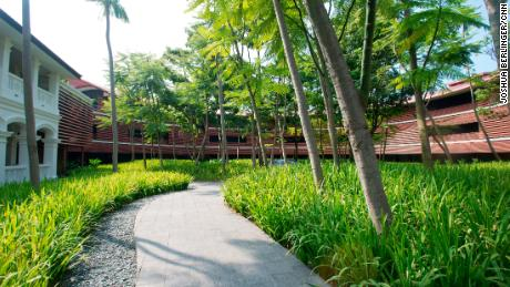 """The Capella is on the island resort of Sentosa, which is Malay for """"peace and tranquility."""""""