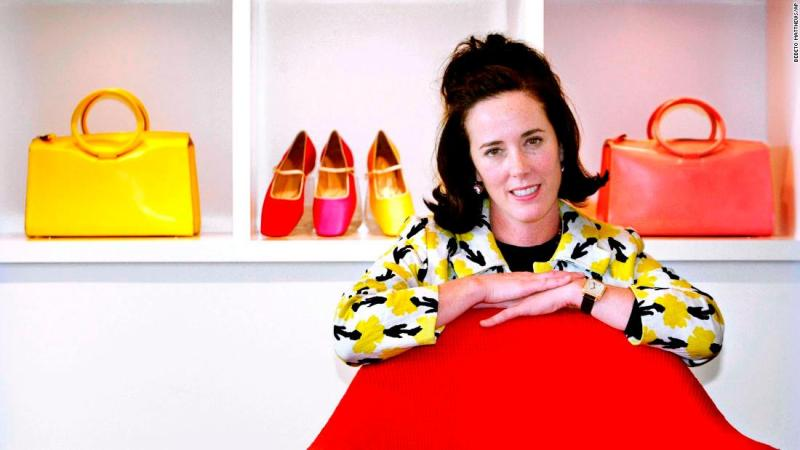 "<a href=""https://www.cnn.com/2018/06/05/us/kate-spade-dead/index.html"" target=""_blank"">Kate Brosnahan Spade</a>, who created an iconic, accessible handbag line that bridged Main Street and high-end fashion, hanged herself in an apparent suicide June 5, according to New York Police Department sources. She was 55. Her company has retail shops and outlet stores all over the world."