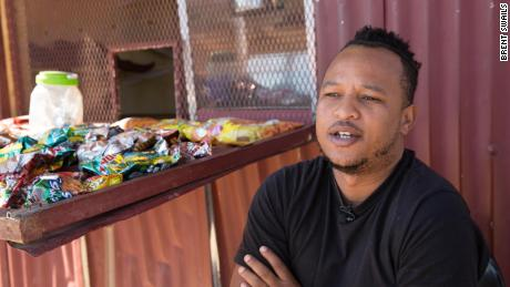 Kevin, a spaza shop owner says diplomatic relations, no matter with whom, make no difference to him.