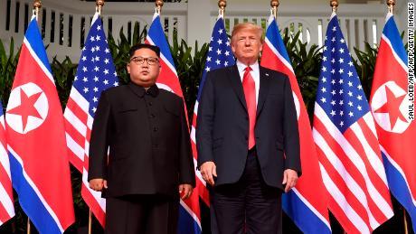 Outrage over Trump's praise of Kim Jong Un