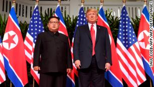 Trump says accused human rights abuser Kim Jong Un 'loves his people'
