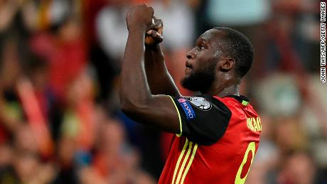 Romelu Lukaku had 11 goals in World Cup qualifiers.