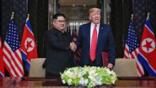 Trump says he doesn't know if Kim Jong Un is sick but wishes him luck