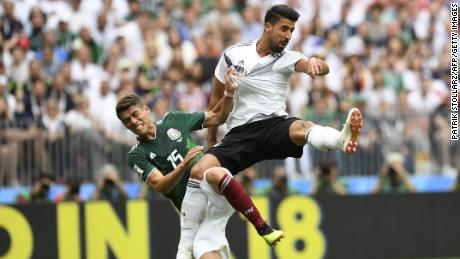 Germany's World Cup team symbolizes country's political divide