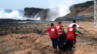 Authorities found 165 bodies on Tuesday and 50 more on Wednesday.