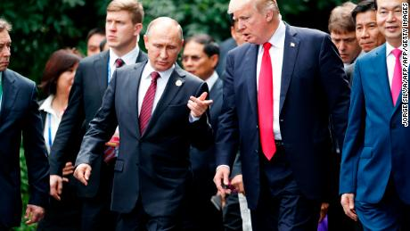 Trump doesn't care what people think about his relationship with Putin