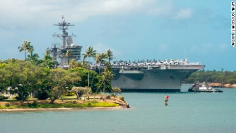 US trying to make friends, counter China with massive naval exercise