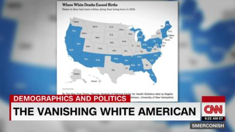 the vanishing white american