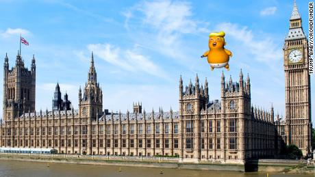 'Trump baby' balloon approved by London mayor