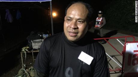 Adisak Wongsukchan said he was looking forward to hugging his son.