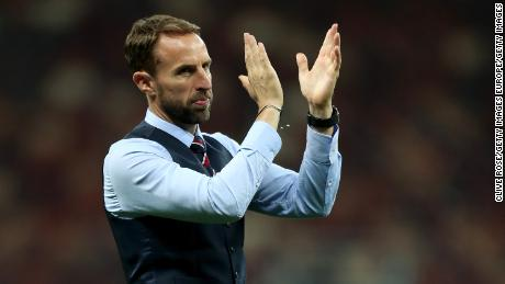 England manager Gareth Southgate has been questioned for his handling of the incident.
