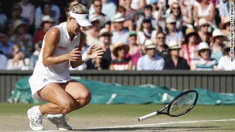 Germany's Angelique Kerber beat Serena Williams to win her maiden WImbledon crown last year.