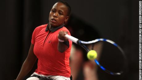 She's made history at Wimbledon, now South Africa wheelchair tennis star has her eyes on the top spot