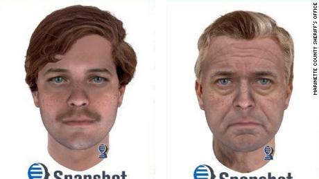 Scientists sketched out a suspect's face using DNA from a 42-year-old cold case