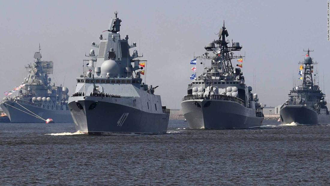 russia s navy parade
