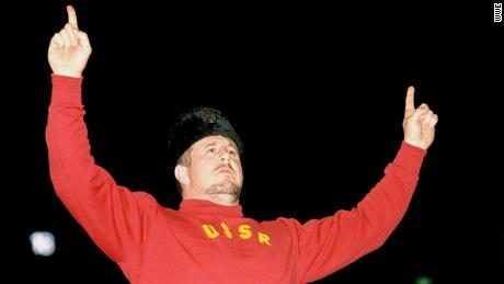 Nikolai Volkoff, who played a villainous Soviet wrestler, dies at 70