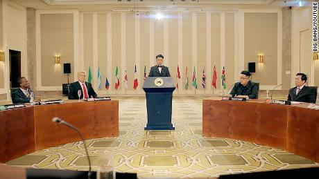 K-pop singer takes on Trump-Kim summit