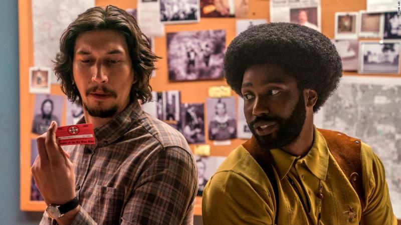 "<strong>Best adapted screenplay:</strong> ""BlacKkKlansman"""